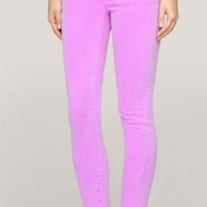 J.CREW Toothpick Ankle Jeans Orchid